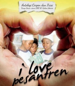 "Cover buku ""I Love Pesantren"""